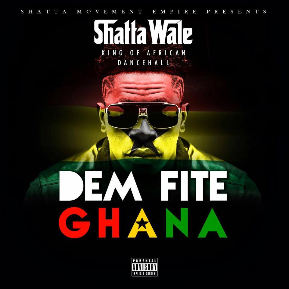 Shatta Wale - Dem A Fight Ghana (Prod By Da Maker)