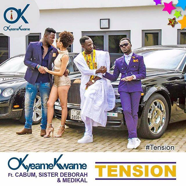 Okyeame Kwame -Tension ft Cabum,Medikal & Sister Deborah