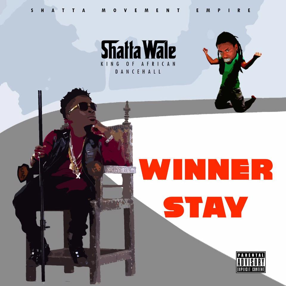Shatta Wale - Winner Stay ( Prod By Da Maker )